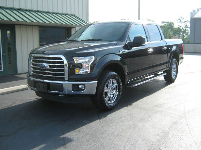 2015 Ford F-150 4x4 XLT 4dr SuperCrew 5.5 ft. SB - Clyde OH