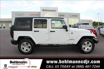 2011 Jeep Wrangler Unlimited for sale in Troy, MO