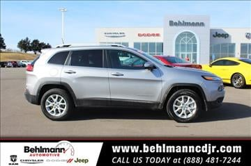 2017 Jeep Cherokee for sale in Troy, MO