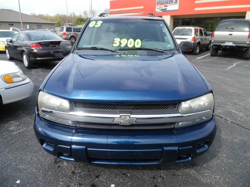 2003 Chevrolet TrailBlazer LS 4WD 4dr SUV - Neosho MO