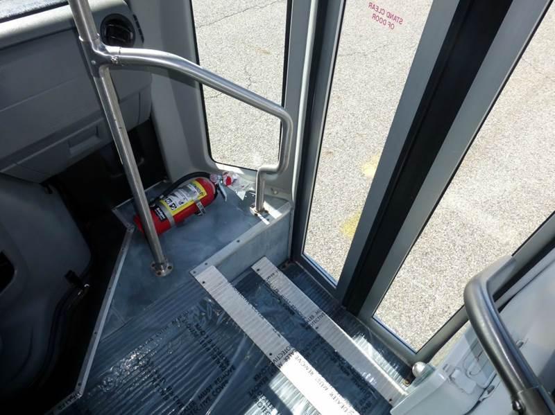 2011 Ford E-450 Eldorado Shuttle Bus w/ Rear Cargo Area - Westbury NY