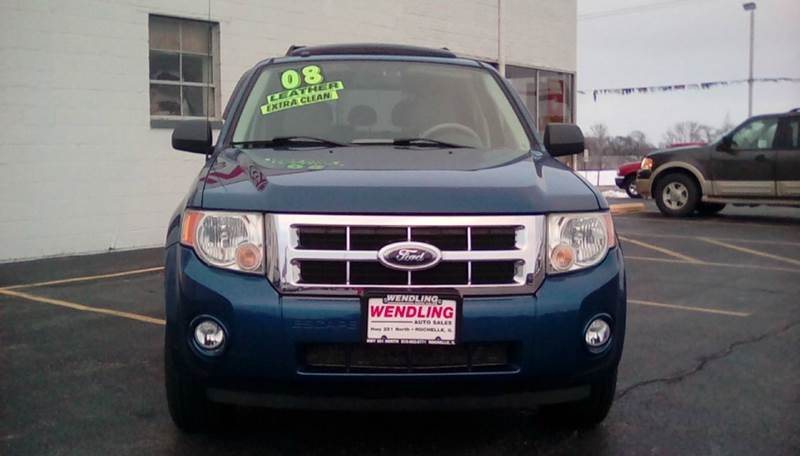 2008 Ford Escape XLT AWD 4dr SUV V6 - Rochelle IL