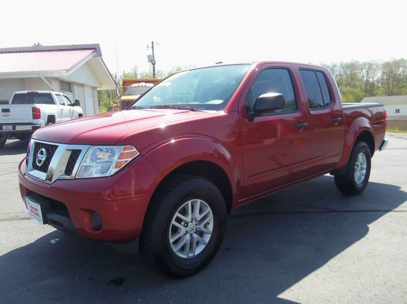 2016 Nissan Frontier 4x4 SV 4dr Crew Cab 5 ft. SB Pickup 5A - Richmond IN