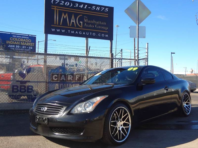 2009 Infiniti G37 Coupe AWD x 2dr Coupe - Denver CO