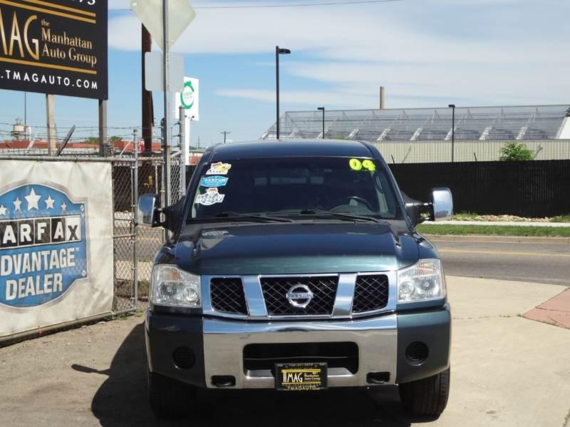 2004 Nissan Titan 4dr Crew Cab SE 4WD SB - Denver CO