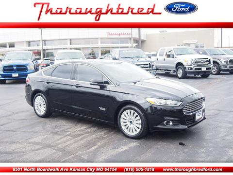 2013 Ford Fusion Energi for sale in Kansas City, MO