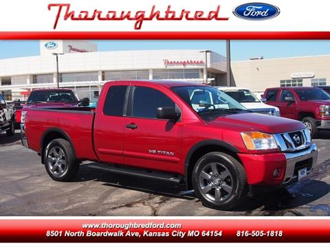 2015 Nissan Titan for sale in Kansas City, MO
