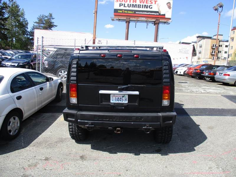 2003 HUMMER H2 4dr 4WD SUV - Seattle WA