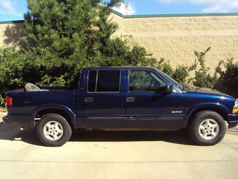 2003 chevrolet s 10 4dr crew cab ls 4wd sb in wake forest nc hollingsworth auto sales. Black Bedroom Furniture Sets. Home Design Ideas