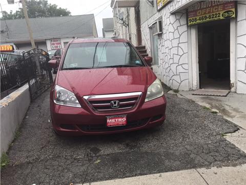 2005 Honda Odyssey for sale in Elizabeth NJ