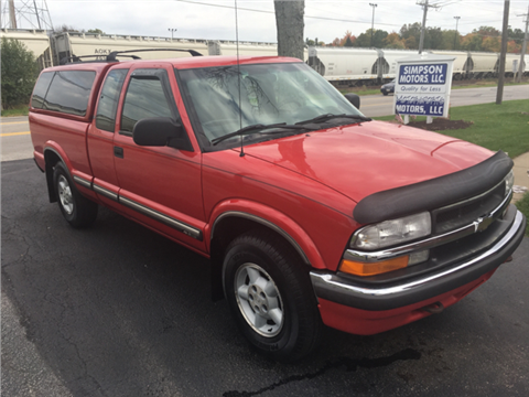 2000 Chevrolet S-10 for sale in Youngstown, OH