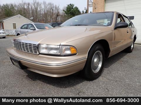 various design new lifestyle best quality 1995 Chevrolet Caprice for sale in Franklinville, NJ