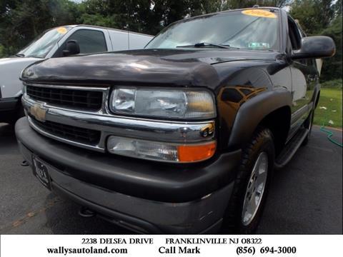 2004 Chevrolet Tahoe for sale in Franklinville, NJ