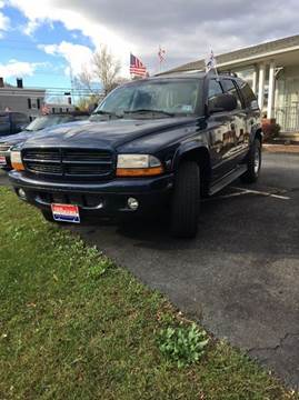 1999 Dodge Durango for sale in Augusta, NJ