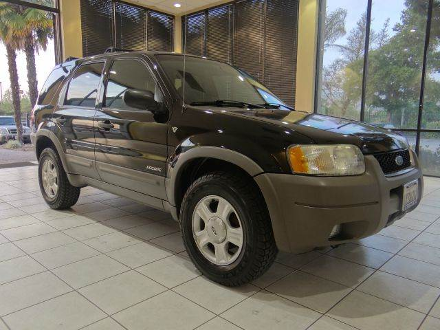 2002 FORD ESCAPE XLT CHOICE 4WD 4DR SUV black abs - 4-wheel anti-theft system - alarm axle rati