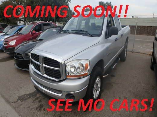 2006 DODGE RAM PICKUP 1500 SLT 4DR QUAD CAB 4WD SB silver 4wd selector - electronic 4wd type - p