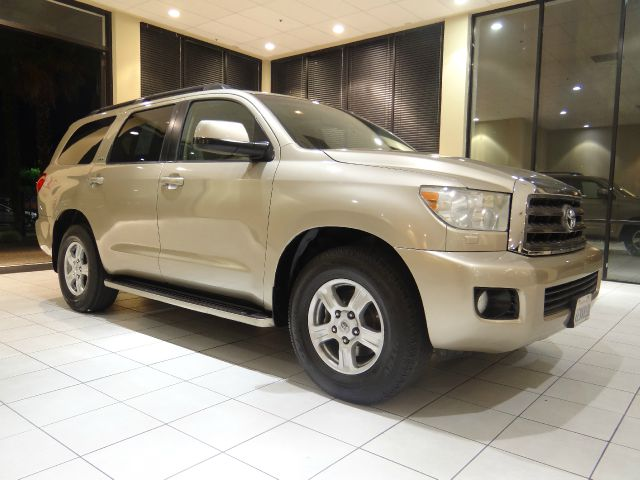 2008 TOYOTA SEQUOIA SR5 4X2 SUV champagne 2-stage unlocking abs - 4-wheel airbag deactivation -