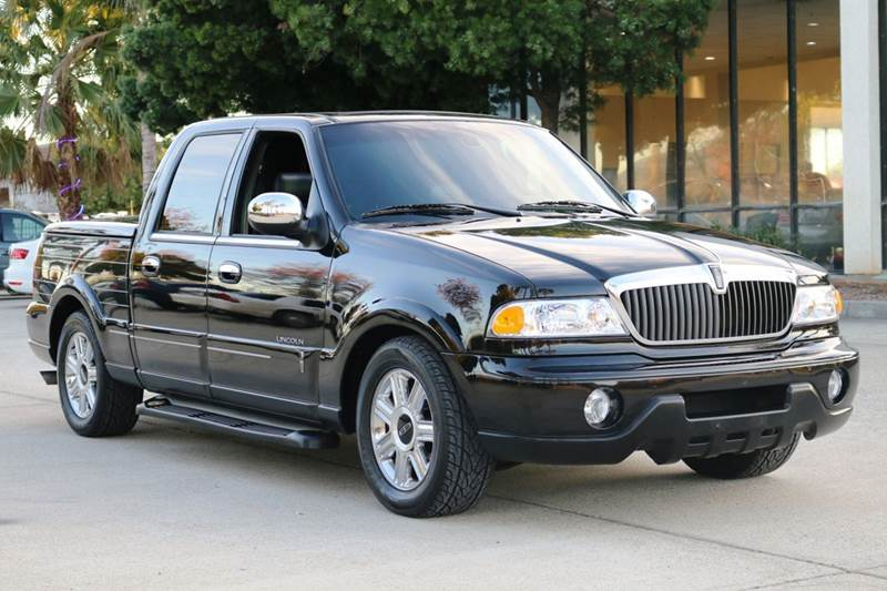 2002 LINCOLN BLACKWOOD BASE 4DR CREW CAB SB 2WD black this 2002 lincoln blackwood is in great con