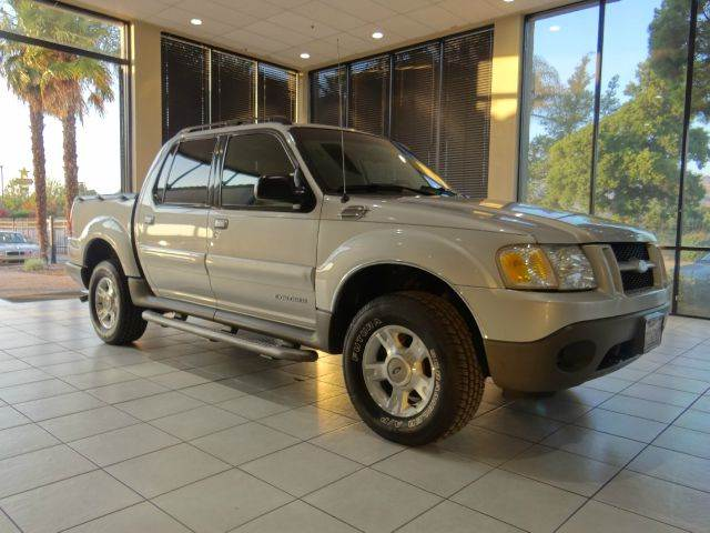 2002 FORD EXPLORER SPORT TRAC VALUE 2WD 4DR CREW CAB silver abs - 4-wheel anti-theft system - al