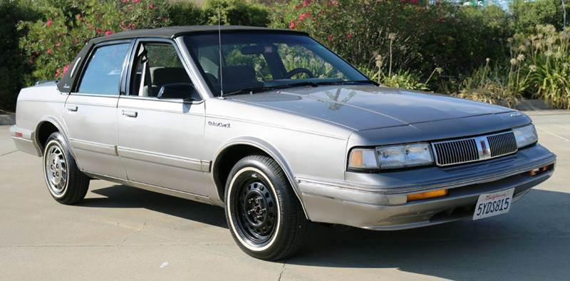 1995 OLDSMOBILE CIERA SL 4DR SEDAN gray abs - 4-wheel cassette cruise control exterior entry l