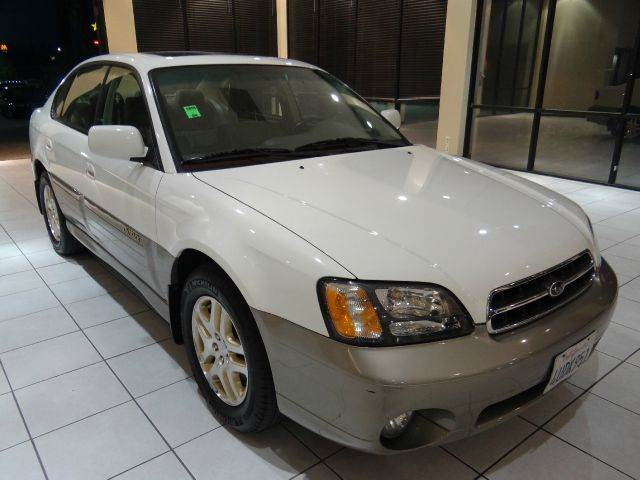 2001 SUBARU OUTBACK LIMITED AWD 4DR SEDAN white abs - 4-wheel cassette clock cruise control d