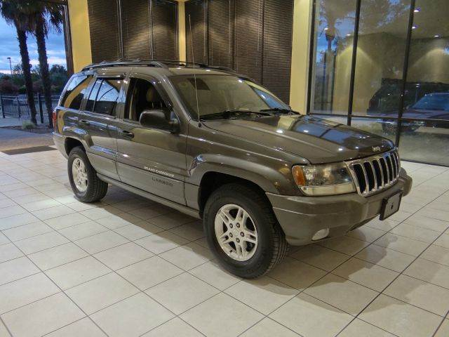 2002 JEEP GRAND CHEROKEE LAREDO 2WD 4DR SUV gray abs - 4-wheel anti-theft system - alarm axle r