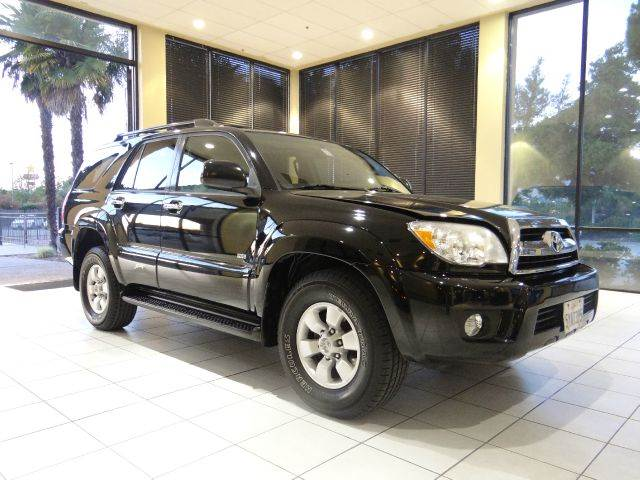 2007 TOYOTA 4RUNNER SPORT EDITION 4DR SUV black 2-stage unlocking - remote abs - 4-wheel air fi