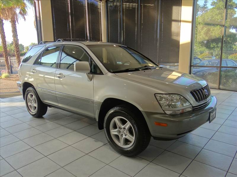 2001 LEXUS RX 300 BASE 4WD 4DR SUV silver abs - 4-wheel anti-theft system - alarm cassette clo