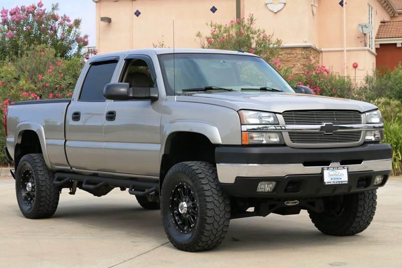 2003 CHEVROLET SILVERADO 2500HD LT 4DR CREW CAB 4WD LB beige abs - 4-wheel anti-theft system - a