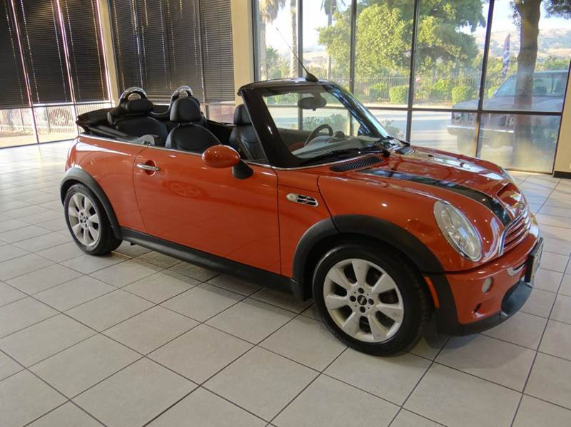 2006 MINI COOPER S 2DR CONVERTIBLE orange abs - 4-wheel air filtration airbag deactivation - oc