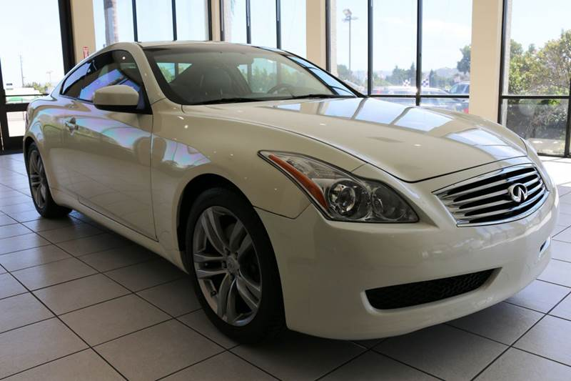 2008 INFINITI G37 JOURNEY 2DR COUPE white this 2008 infiniti g37 coupe is in great condition an