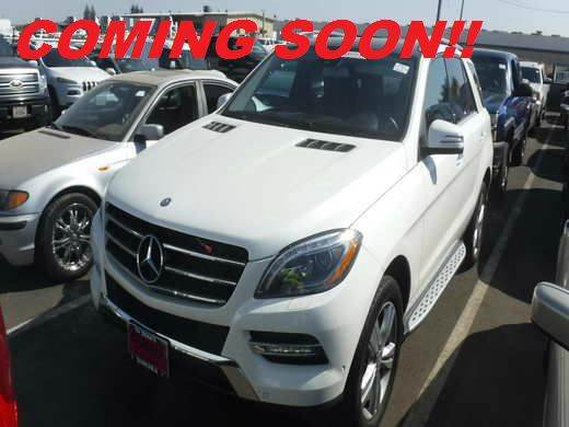 2013 MERCEDES-BENZ M-CLASS ML350 BLUETEC AWD 4MATIC 4DR SUV white 2-stage unlocking doors 4wd typ