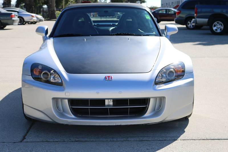 2005 HONDA S2000 BASE 2DR CONVERTIBLE silver abs - 4-wheel axle ratio - 410 center console - f