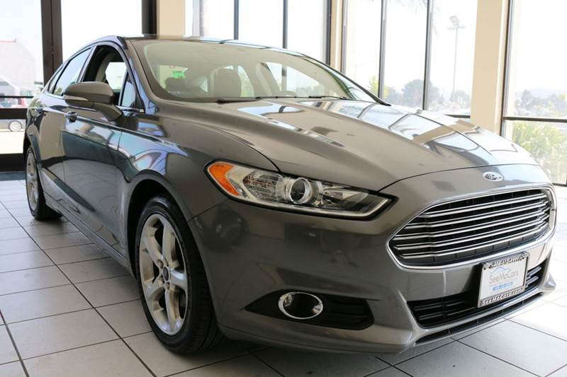 2014 FORD FUSION SE 4DR SEDAN gray this is a clean sporty like new 2014 ford fusion se which soun