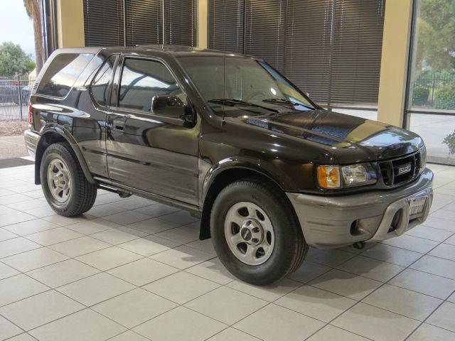 2001 ISUZU RODEO SPORT BASE 2DR STD SUV CONVERTIBLE black abs - 4-wheel axle ratio - 477 casse