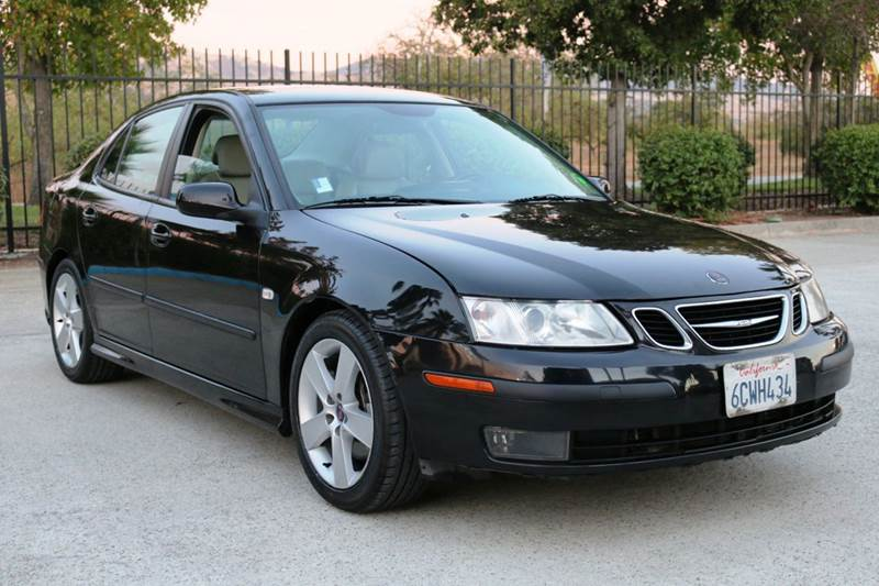 2007 SAAB 9-3 AERO 4DR SEDAN black this 2007 saab 9-3 is one of the last of its kind with awesome