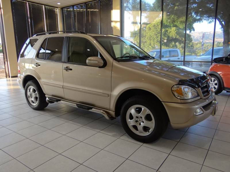 2003 MERCEDES-BENZ M-CLASS ML350 AWD 4MATIC 4DR SUV champagne abs - 4-wheel anti-theft system -