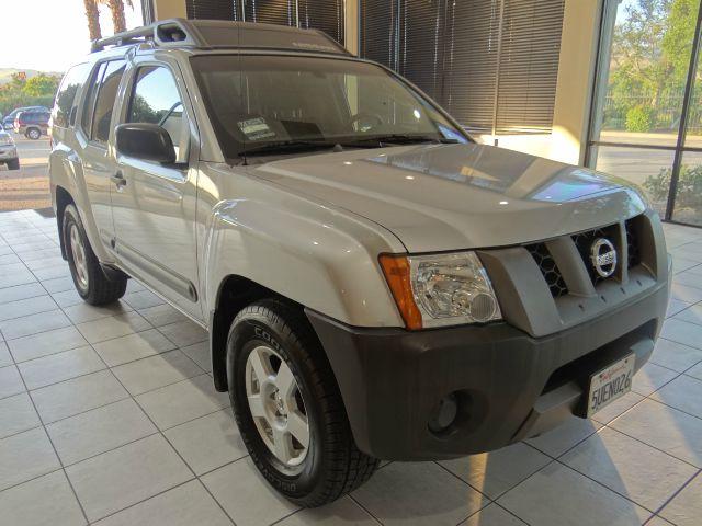 2006 NISSAN XTERRA X 4DR SUV 4L V6 5A silver abs - 4-wheel airbag deactivation - occupant sens