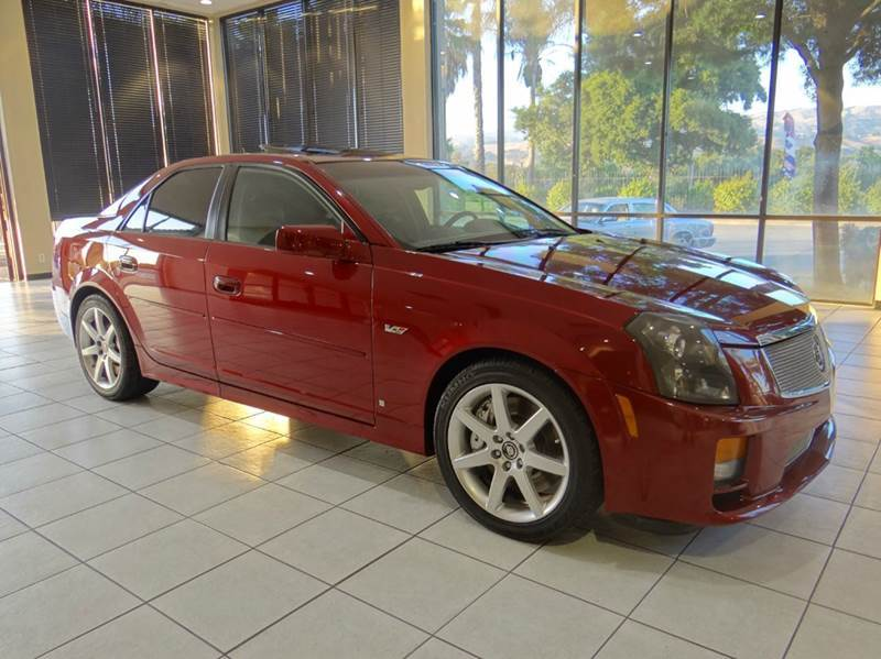 2007 CADILLAC CTS-V BASE 4DR SEDAN maroon 2-stage unlocking - remote abs - 4-wheel antenna type