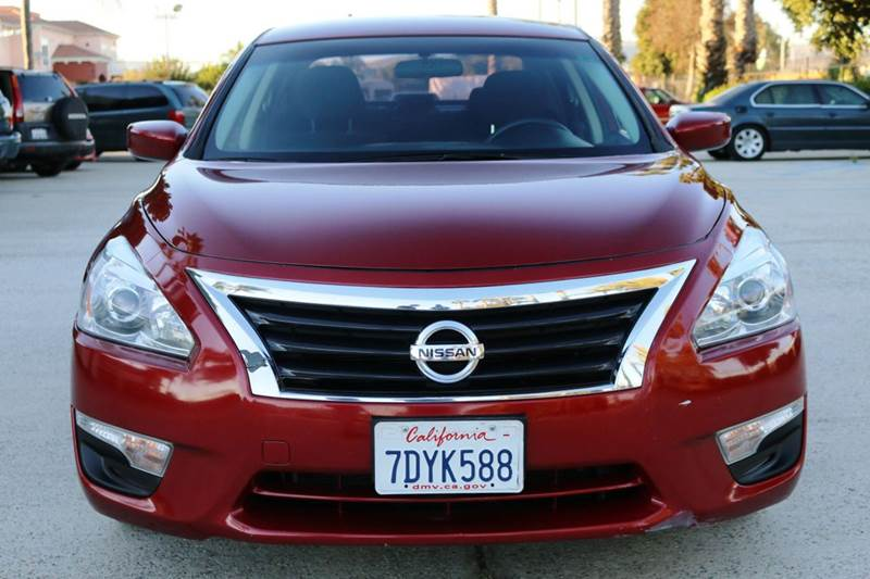 2014 NISSAN ALTIMA 25 S 4DR SEDAN red 2-stage unlocking doors abs - 4-wheel active head restra