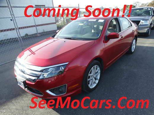 2011 FORD FUSION SEL 4DR SEDAN red this 2011 ford fusion is in beautiful condition and is ready t
