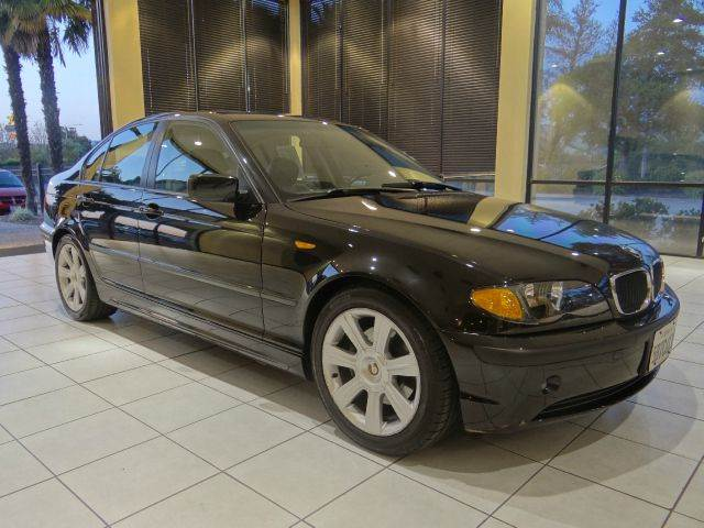 2002 BMW 3 SERIES 325I 4DR SEDAN black abs - 4-wheel anti-theft system - alarm center console