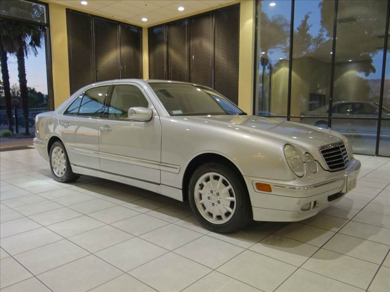 2000 MERCEDES-BENZ E-CLASS E320 4DR SEDAN silver abs - 4-wheel anti-theft system - alarm casset