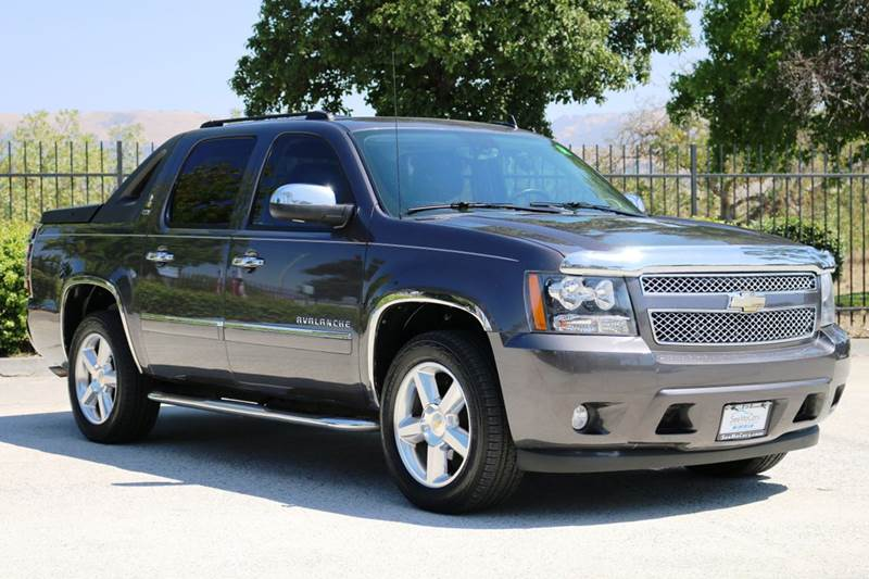 2010 CHEVROLET AVALANCHE LTZ 4X2 4DR PICKUP blue 2-stage unlocking doors abs - 4-wheel active s