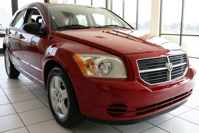 2009 DODGE CALIBER SXT 4DR WAGON red this low mileage 2009 dodge caliber sxt is a prefect commu