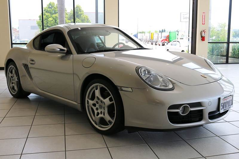 2007 PORSCHE CAYMAN BASE 2DR COUPE silver wow must see a 2007 porsche cayman in immaculate con