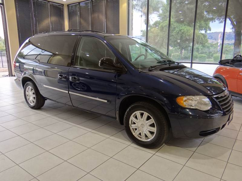 2006 CHRYSLER TOWN AND COUNTRY TOURING 4DR EXTENDED MINI VAN blue abs - 4-wheel airbag deactivat