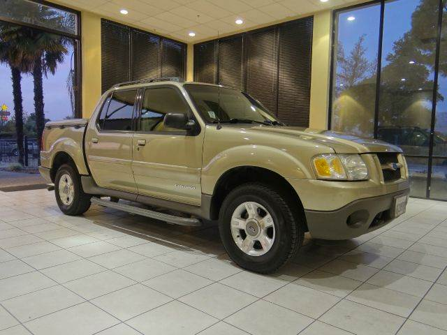 2001 FORD EXPLORER SPORT TRAC BASE 2WD 4DR CREW CAB champagne abs - 4-wheel anti-theft system -