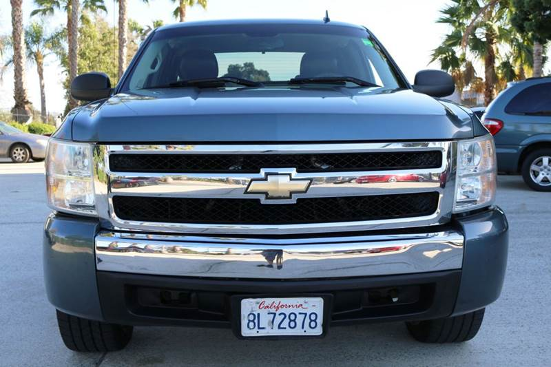 2007 CHEVROLET SILVERADO 1500 CLASSIC WORK TRUCK 4DR EXTENDED CAB 65 blue abs - 4-wheel airbag