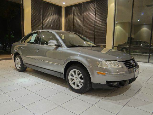 2004 VOLKSWAGEN PASSAT GLS 18T 4MOTION AWD 4DR TURBO S gray abs - 4-wheel anti-theft system - a